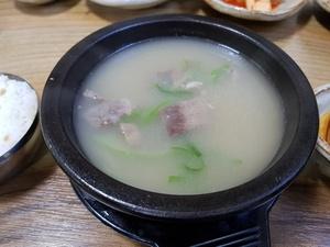 토정소머리국밥