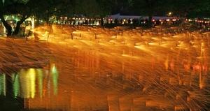 무형문화재 전통 불꽃놀이 '함안낙화놀이' 12일 열려