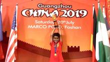 8세 멕시칸 어린이, 세계 ALOHA 수학 계산 대회 우승
