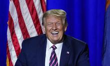 """트럼프 """"코로나19, '집단정신'으로 끝낼 수 있다"""""""